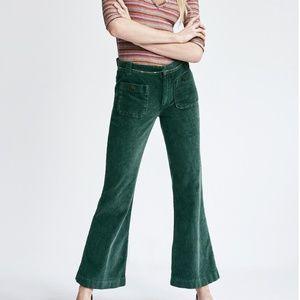 Free People Hip-Hugging Flare Cord Pants